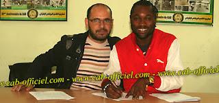Le Congolais Christian Mbala signe son contrat avec AC Bizertin/ Ph. Droits Tiers.