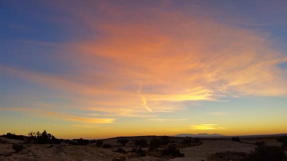 Thursday's sunrise