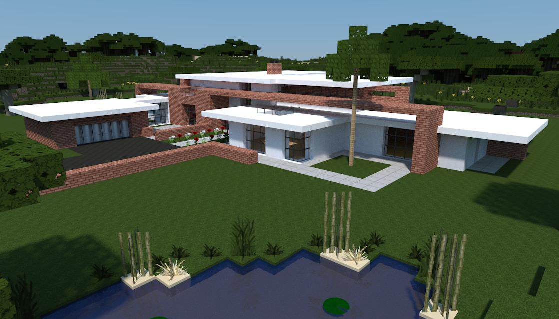 Galerie] Plans de maisons pour Minecraft [Edit: Plans listés ...
