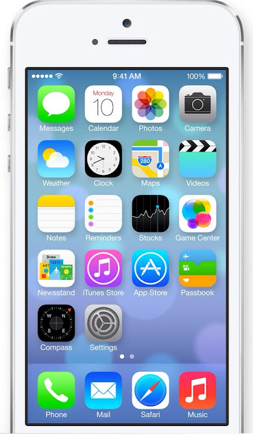 iPhone 5 iOS 7