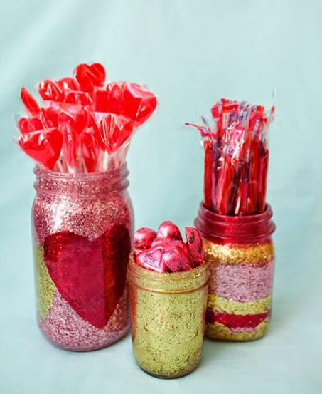 Pote de vidro - Dia dos Namorados