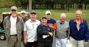 Steve Ammon, Ray Paske, Sandy Hallenbeck, Fred Grates, Bob Selkis, Jack Thomasson, and the man of the hour, Steve Darrah
