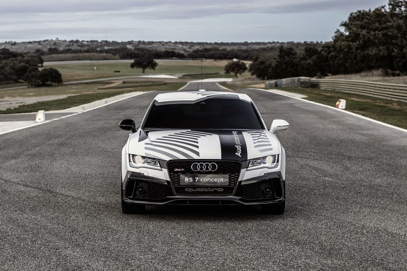 Audi Piloted Driving >> Audi Rs7 Piloted Concept All Car Index