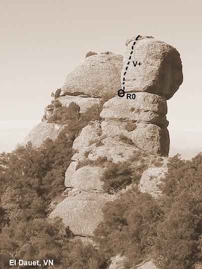 El Dauet, Montserrat