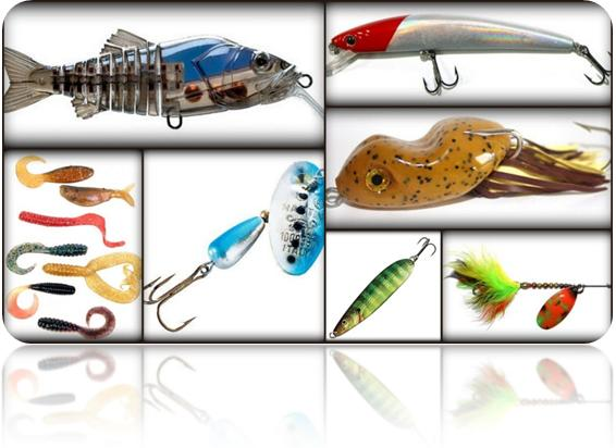 Eagle eye how i was hooked to fishing part 4 for Types of fishing lures