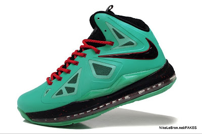 lbj10 fake colorway jade 1 02 Fake LeBron X