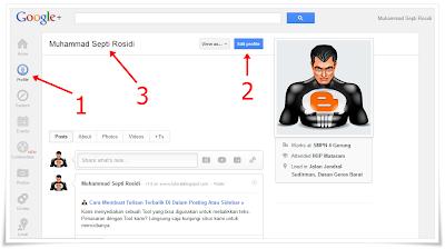 nama google+,nama google plus,profile name,nama profil,mengganti nama Google+,merubah nama Google+,Edit nama google,mengganti nama identitas