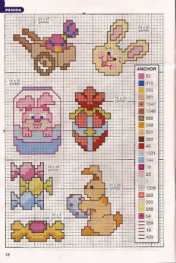 Gráficos punto de cruz 1001ideiaismini-21-17