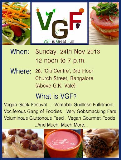 VGF 24 Nov 2013 Poster