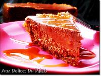 Cheesecake au kiri et au chocolat - recette indexée dans les Desserts