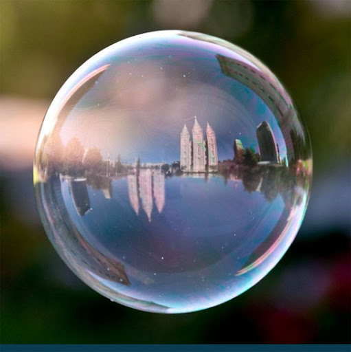 Mormon Temple, Salt Lake City - The World in a Bubble