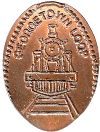Georgetown Loop penny