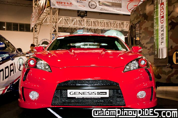 Hyundai Genesis Coupe Body Kit Designs by Atoy Customs 2012 Manila Auto Salon Custom Pinoy Rides pic4