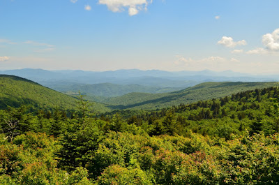 View from along the Appalachian Trail