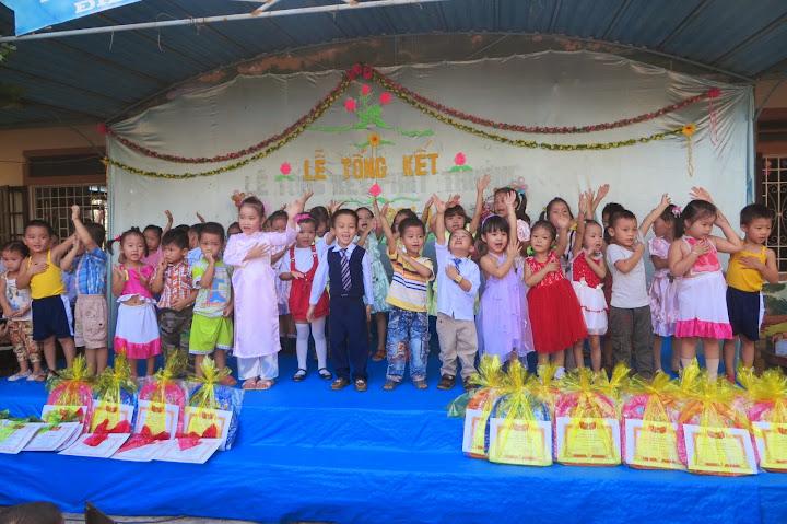 Hình ảnh lễ bế mạc Trường mẫu Giáo Dương Sơn