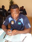 L'international congolais Kudimbana/Ph. Jerry Angengwa