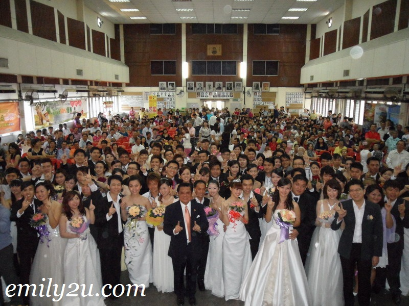 11.11.11 mass wedding Ipoh