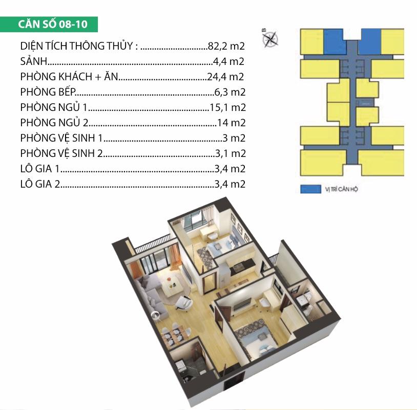 Thiết kế căn hộ 08-10