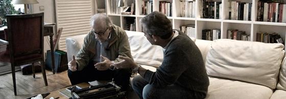 JM Gómez y Enric González. Fragmento de foto de Jorge Quiñoa