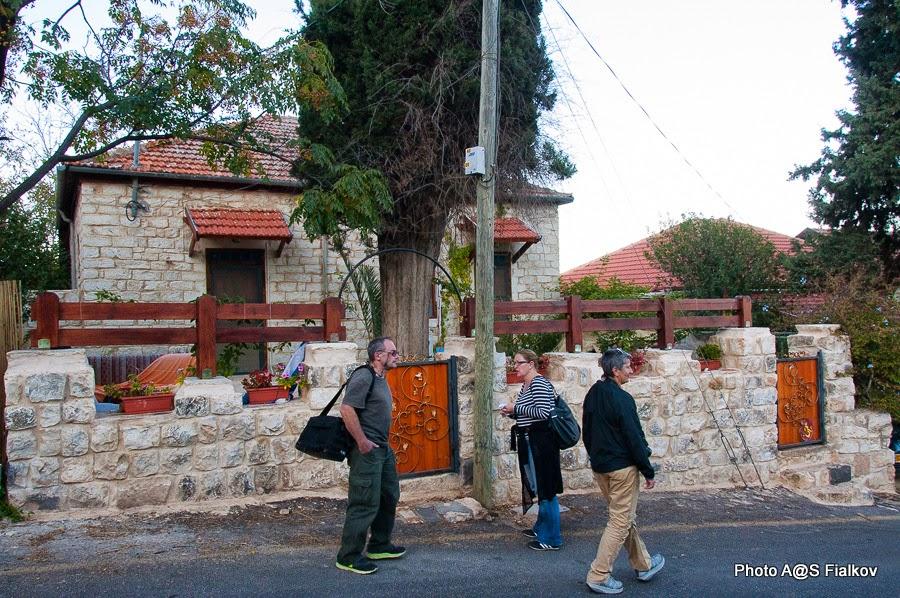 Экскурсия в Рош Пина. Гид в Израиле Светлана Фиалкова.