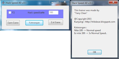 #Cheat Atlantica ONLINE : Hack Speed 100%