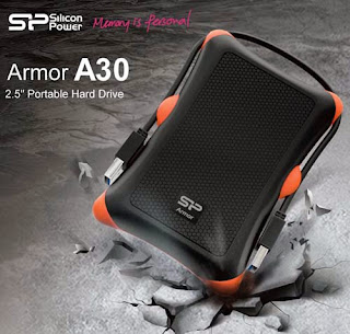 Silicon Power Rugged Portable Hard Drive Armor A30