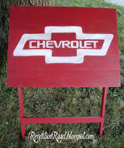 Chevrolet drafting table