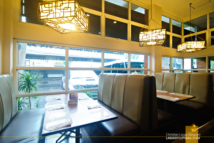 Booth Seating at Legazpi's 1st Colonial Grill