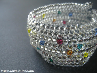 Diamond and Jewels Cuff