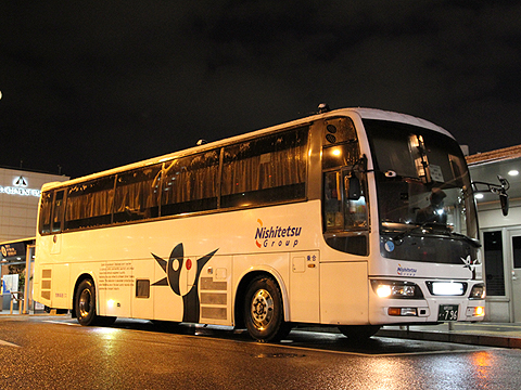 西鉄高速バス「さぬきエクスプレス福岡号」 3802(H24.02.18撮影)