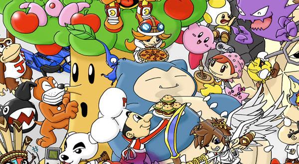 Huge Nintendo Characters Image