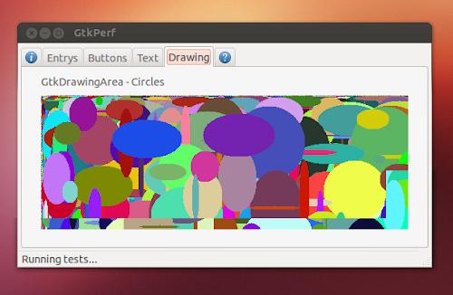 GTKPerf  su Ubuntu - test