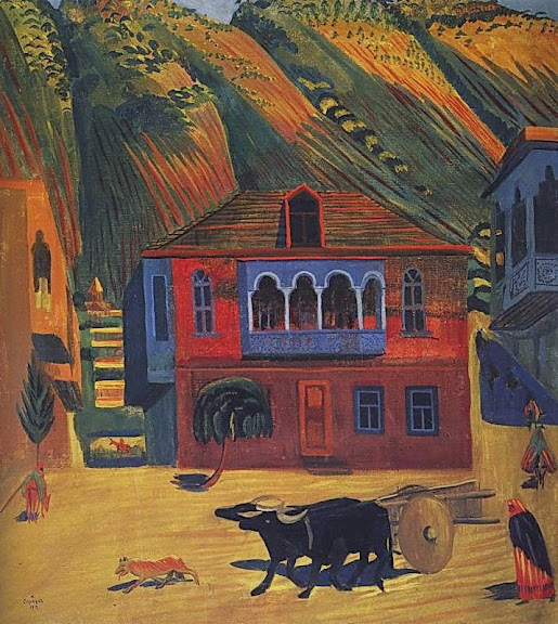 Martiros Saryan - The day, 1917