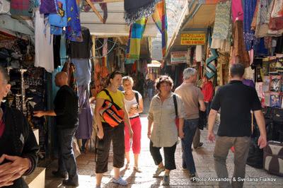 Экскурсия Старый Город Иерусалима. Рынок. Гид в Израиле Светлана Фиалкова.