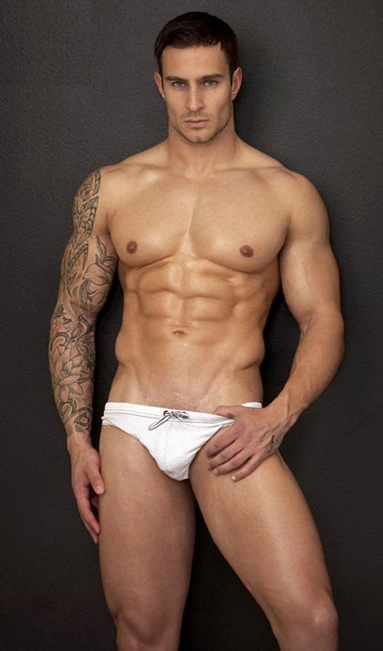 White Brief Hunks - Hot Even in White Color