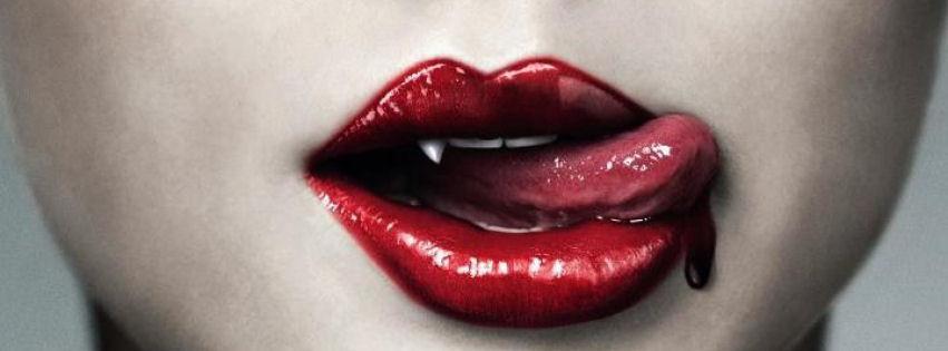Vampir kız kapak fotoğrafları