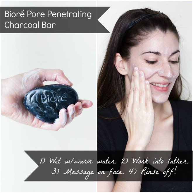 Pore Penetrating Charcoal Bar Bioré