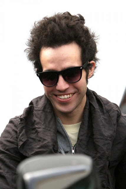 Pete Wentz Curly Hair