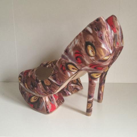 Sammi Jackson - Sleeh Shoes Laurent Pump in Multi Brown