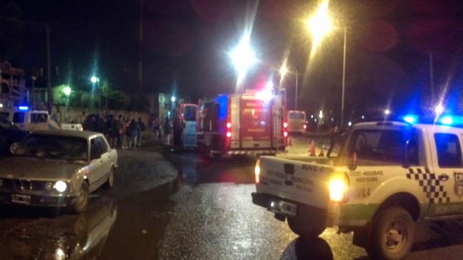 Renault 11 chocó de frente contra un colectivo y no fue el único choque fuerte de los últimos días