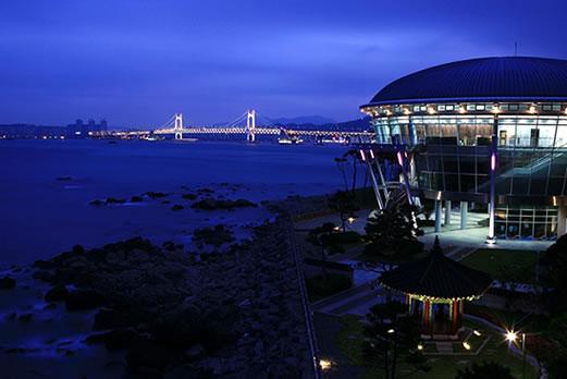 釜山夜景(イメージ)