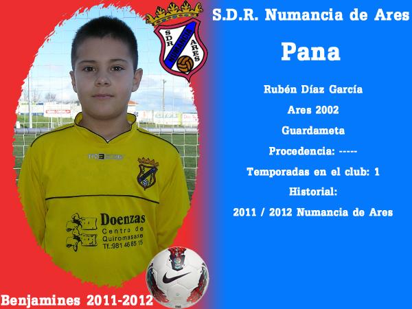 ADR Numancia de Ares. Benxamíns 2011-2012. PANA.