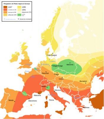 peste en europa