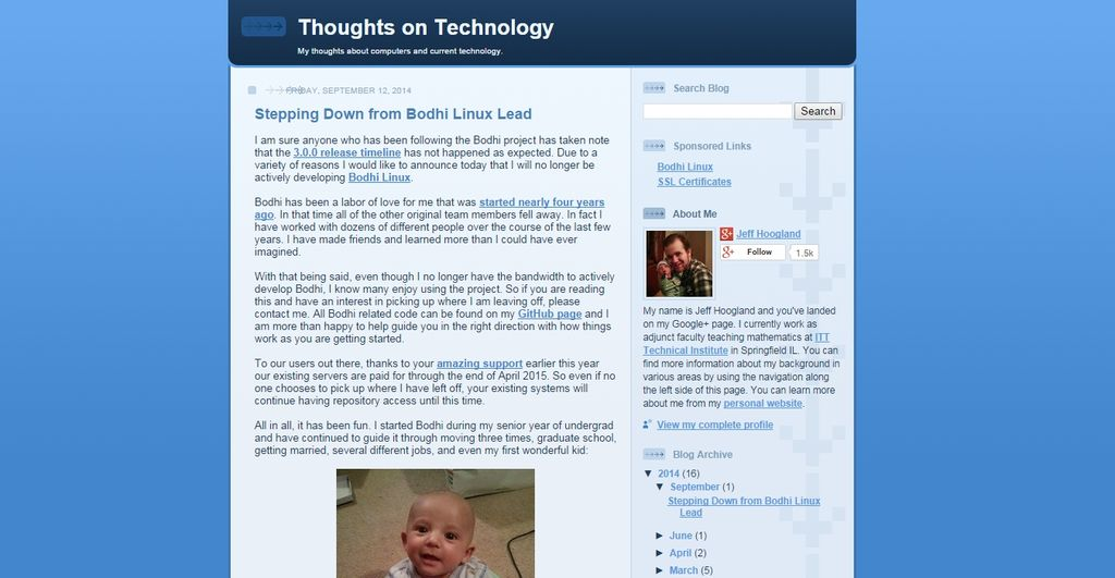 Bodhi Linux Annuncio abbandono progetto