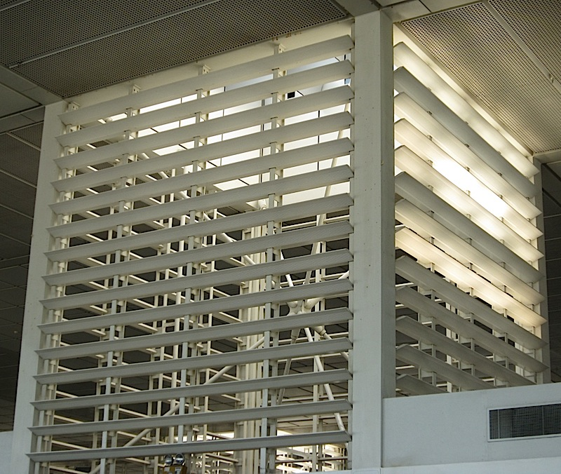 skylight at the Ninoy Aquino International Airport centennial terminal