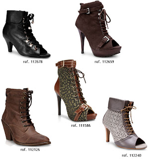 botas com amarrao