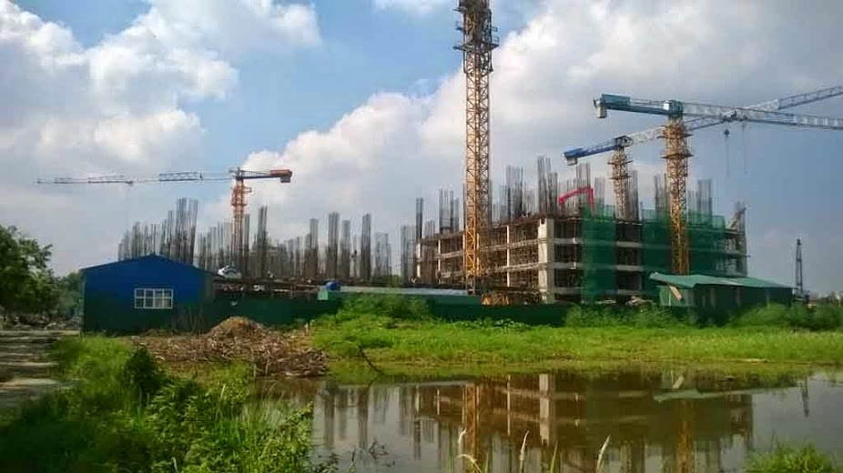Cập nhật tiến độ chung cư HH4 Linh Đàm ngày 08/07/2014