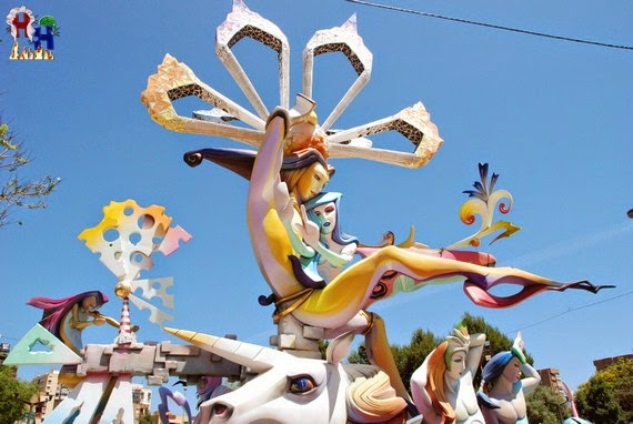 Hoguera 2013 Florida - Plaza la Viña