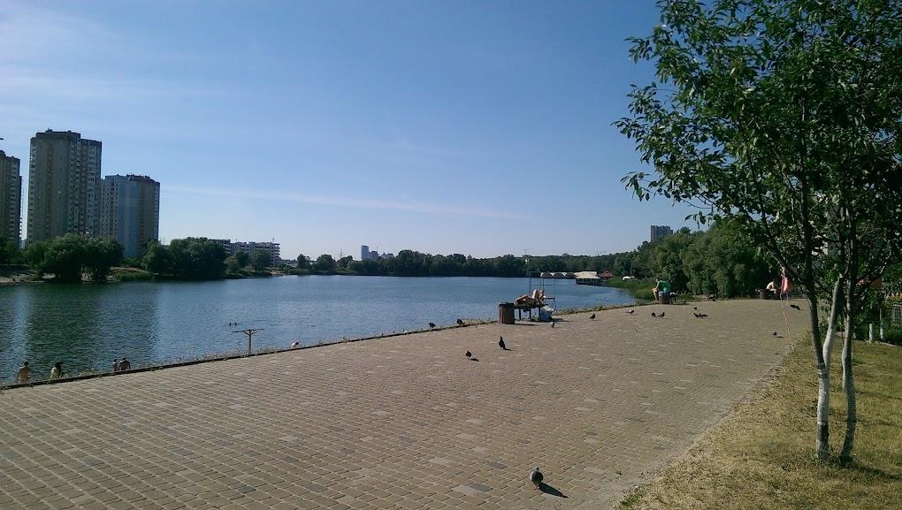 Озеро Солнечное в Киеве