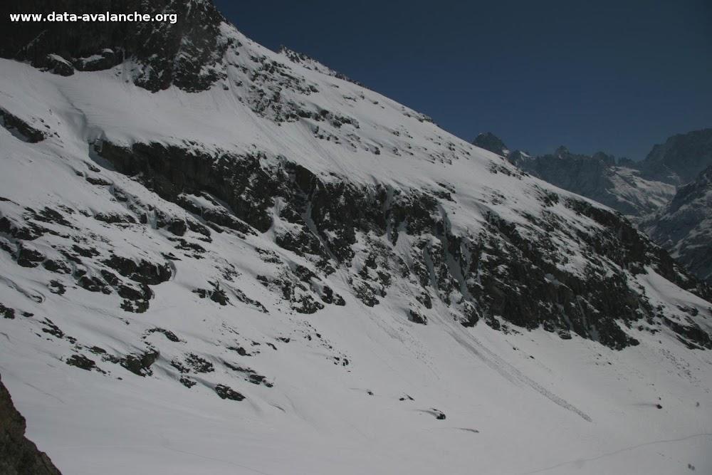 Avalanche Oisans, secteur Aig du Plat de la Selle, Combe du Cray - Photo 1